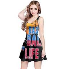 Basketball is my life Reversible Sleeveless Dress
