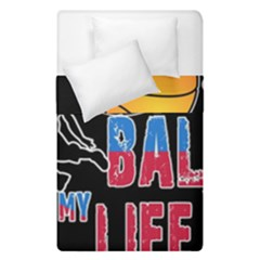 Basketball is my life Duvet Cover Double Side (Single Size)