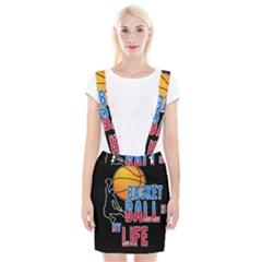 Basketball is my life Braces Suspender Skirt