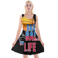 Basketball is my life Reversible Velvet Sleeveless Dress