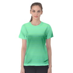 Decorative lines pattern Women s Sport Mesh Tee