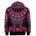 Pink Vortex Half Kaleidoscope  Men s Pullover Hoodie View2