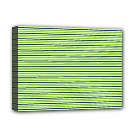 Decorative lines pattern Deluxe Canvas 16  x 12