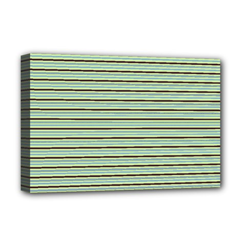 Decorative lines pattern Deluxe Canvas 18  x 12