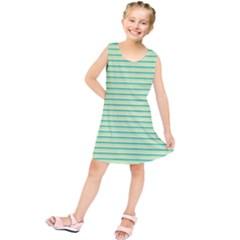 Decorative lines pattern Kids  Tunic Dress