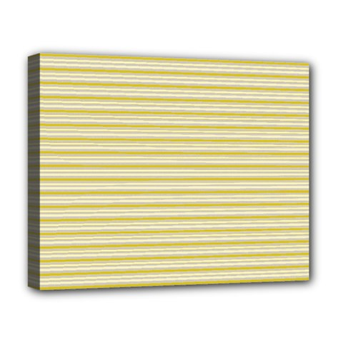 Decorative Lines Pattern Deluxe Canvas 20  X 16