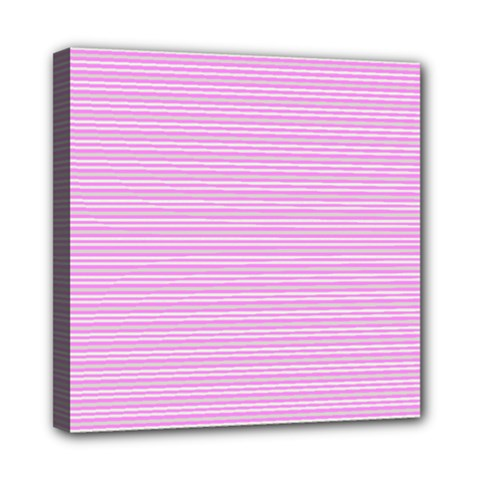 Decorative lines pattern Mini Canvas 8  x 8