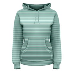Decorative Line Pattern Women s Pullover Hoodie