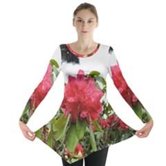 Virginia Waters Flowers Long Sleeve Tunic