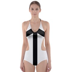 Grapevine Cross Cut-Out One Piece Swimsuit