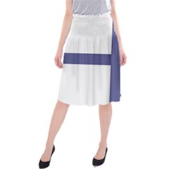 Greek Cross  Midi Beach Skirt