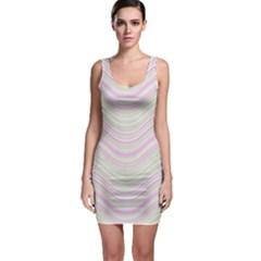 Pattern Sleeveless Bodycon Dress