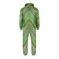 Pattern Hooded Jumpsuit (Kids)