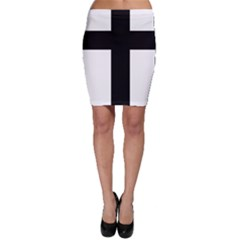 Latin Cross  Bodycon Skirt