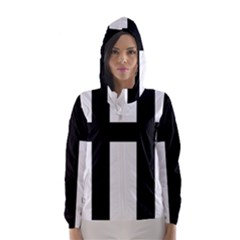 Latin Cross  Hooded Wind Breaker (Women)