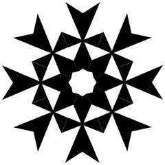 Maltese Cross Straight Umbrellas