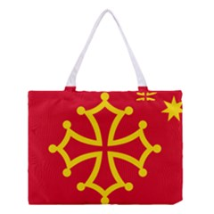 Flag of Occitania Medium Tote Bag