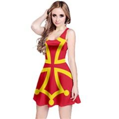 Flag Of Occitaniah Reversible Sleeveless Dress
