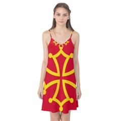 Flag Of Occitaniah Camis Nightgown