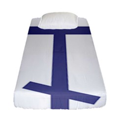 Orthodox Cross  Fitted Sheet (Single Size)
