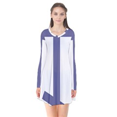Orthodox Cross  Flare Dress