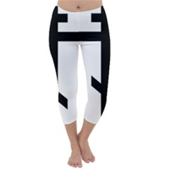Orthodox Cross  Capri Winter Leggings