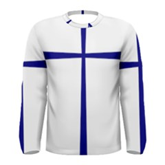 Byzantine Cross  Men s Long Sleeve Tee