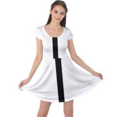 Papal cross Cap Sleeve Dresses