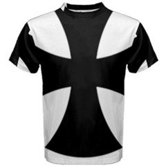 Cross Patty Men s Cotton Tee