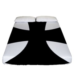 Cross Patty Fitted Sheet (Queen Size)