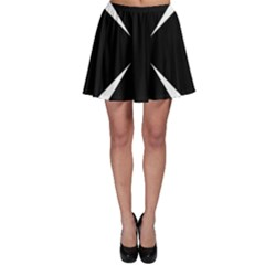 Cross Patty  Skater Skirt