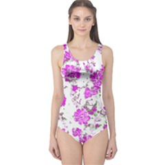 Floral Dreams 12 F One Piece Swimsuit