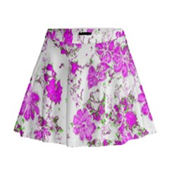Floral Dreams 12 F Mini Flare Skirt