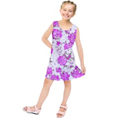 Floral Dreams 12 F Kids  Tunic Dress