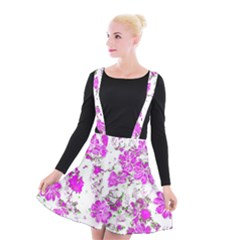 Floral Dreams 12 F Suspender Skater Skirt