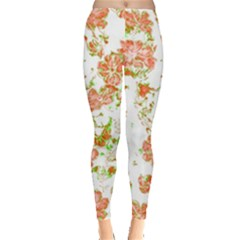 Floral Dreams 12 D Leggings