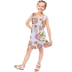 Floral Dreams 12 D Kids  Tunic Dress