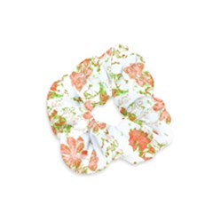 Floral Dreams 12 D Velvet Scrunchie