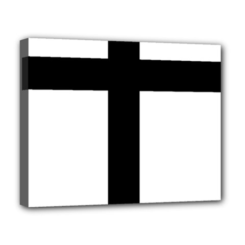 Patriarchal Cross Deluxe Canvas 20  X 16