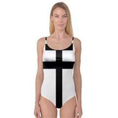 Patriarchal Cross Camisole Leotard
