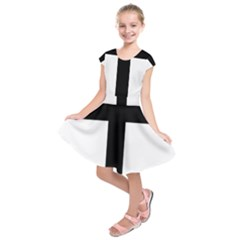 Patriarchal Cross Kids  Short Sleeve Dress