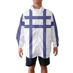 Patriarchal Cross Wind Breaker (kids)