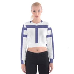 Patriarchal Cross Cropped Sweatshirt