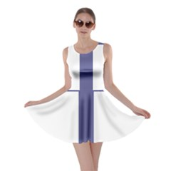 Patriarchal Cross Skater Dress