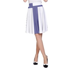 Patriarchal Cross A-Line Skirt