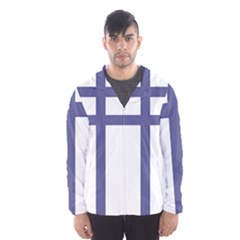 Patriarchal Cross Hooded Wind Breaker (Men)