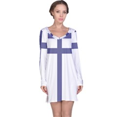 Patriarchal Cross Long Sleeve Nightdress