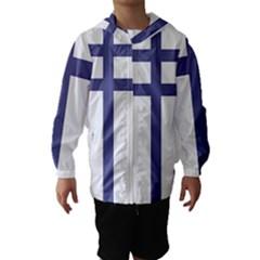 Patriarchal Cross Hooded Wind Breaker (kids)