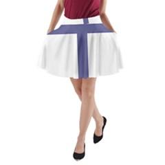 Patriarchal Cross A-Line Pocket Skirt