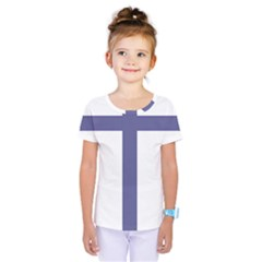 Patriarchal Cross Kids  One Piece Tee